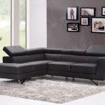 sofá esquinero negro